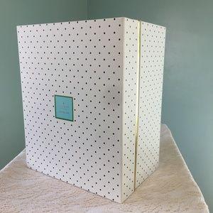 New Kate Spade Medium Navy Polka Dots Nesting Box